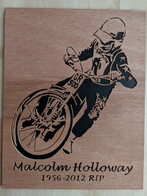 Malcolm Holloway - action