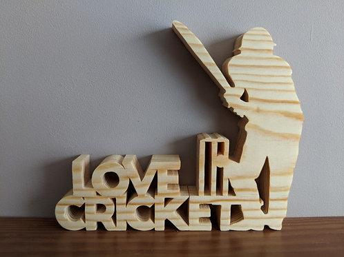 """Love"" Cricket"