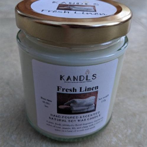 Fresh Linen candles & tealights