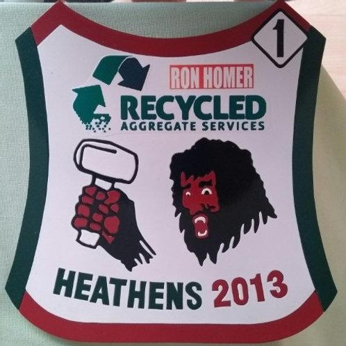 Cradley Heath 2013 race jacket