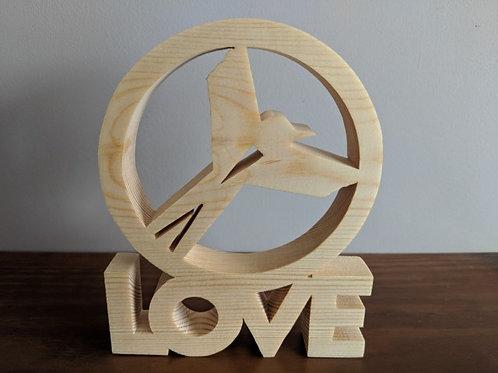 """""""LOVE"""" Notts County - '70s logo"""