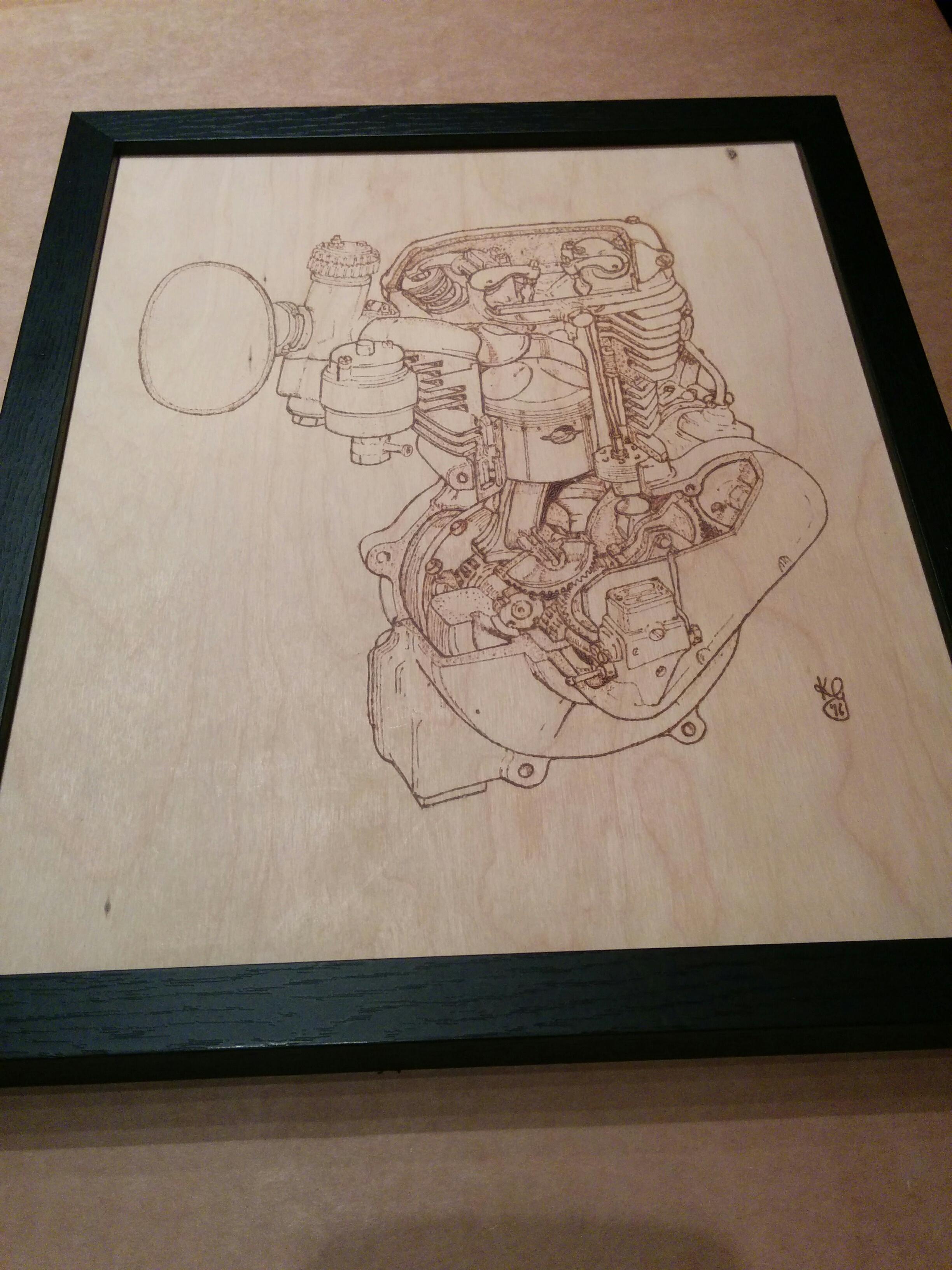 2 valve JAWA pyrography