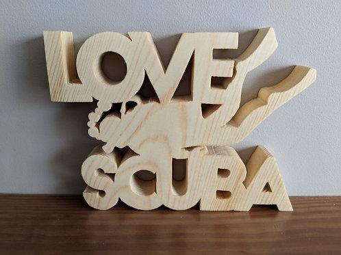 """""""Love"""" Scuba Diving"""