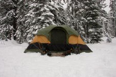 best tent for the snow