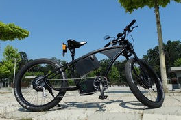 electric bikes cool look smooth ride