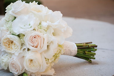 blush wedding bouquet white rose bouquet, lace wrapped bridal bouquet