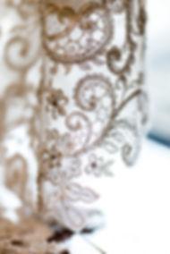 wedding dress lace vintage
