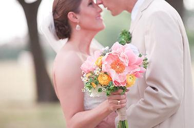 vintage garden wedding bride and groom coral succulents bridal bouquet