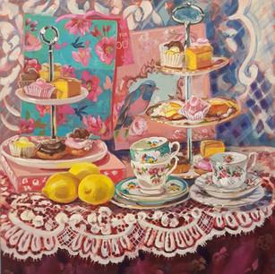 High Tea with Lemon Cakes