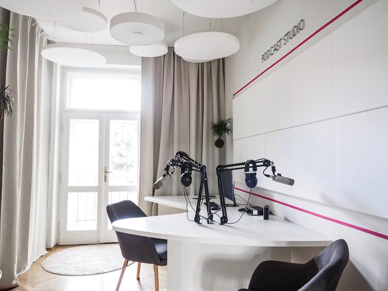 Podcast studio