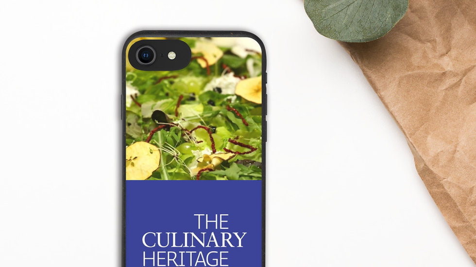 Biodegradable Culinary Heritage Phone Case