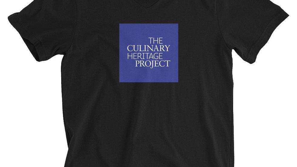 Culinary Heritage Unisex Short Sleeve V-Neck T-Shirt