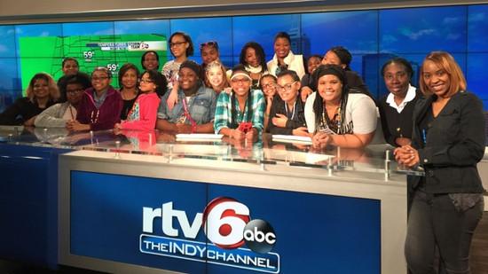Visit to RTV6 studios