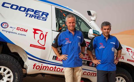 쿠퍼타이어 ST MAXX로 2014년 Dakar 대회 참가
