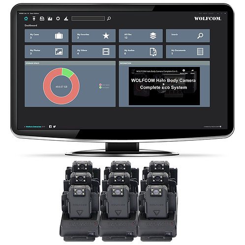WEMS Lite PRO (Multi User) Up to 10 Cameras