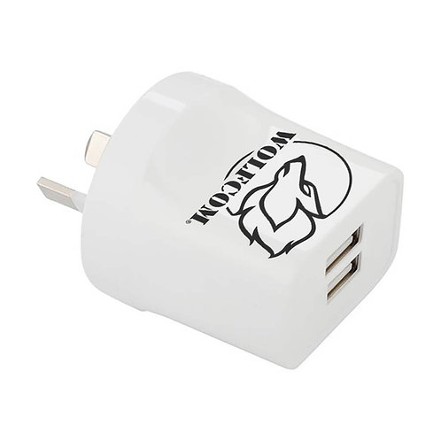 Wolfcom Vision Dual Wall Charger (1A/2A)