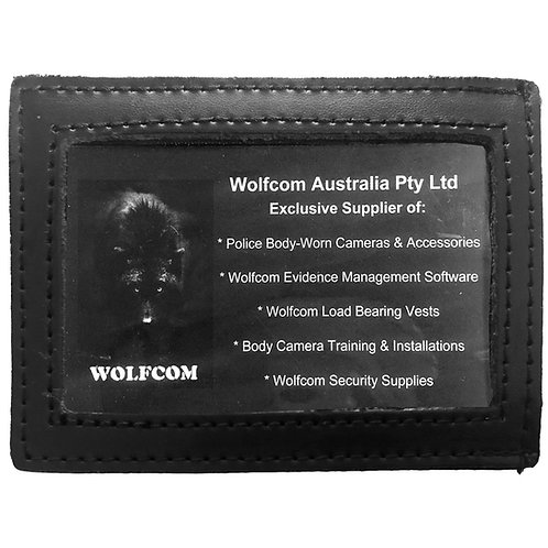 Leather ID Holder (for belts)