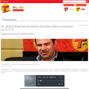 Rádio Transamérica – Programa TI TI TI (Novembro de 2018)