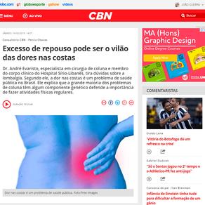 CBN – Consultório CBN – Revista CBN (Fevereiro de 2019)