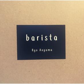"""青山亮 """"barista"""""""