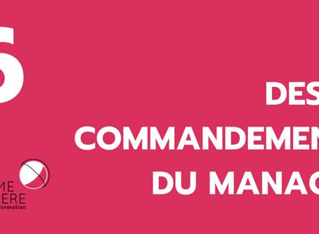 Administrer mon temps d'écoute avec mon entourage : dispo/pas dispo.6 de 10 commandements du manager