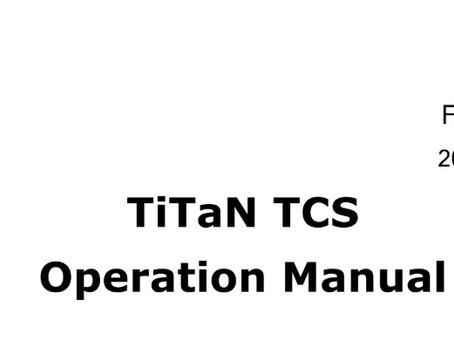 TiTaN TCS F/W 3.0