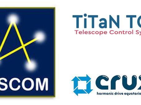 TiTaN TCS ASCOM Driver Beta 발표