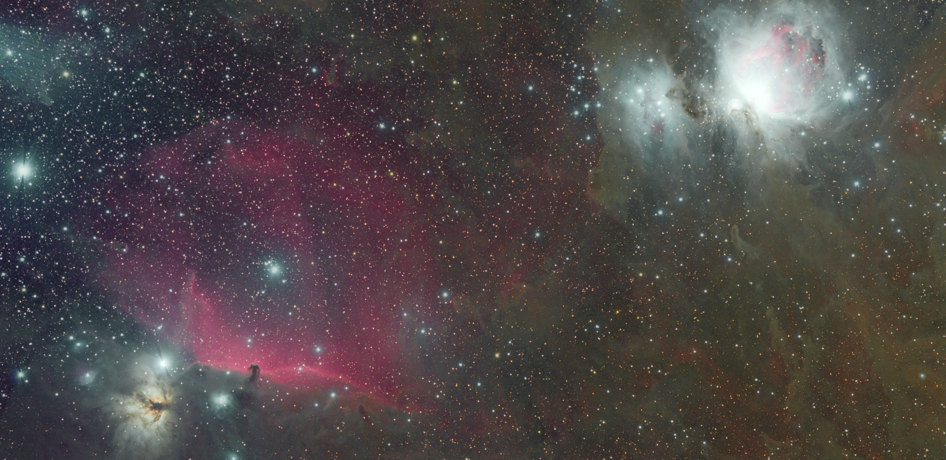 M42+IC434 Region / Mongo