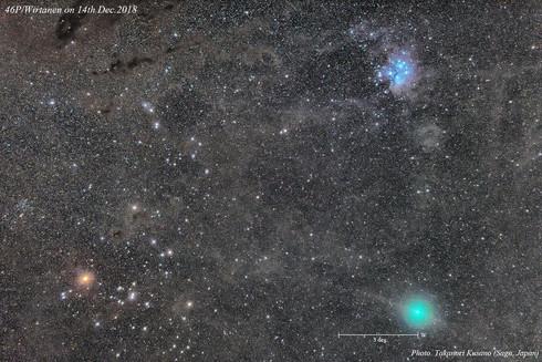 Comet 46P / Takanori Kusano