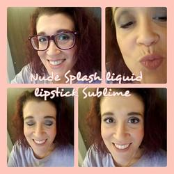Nudes!! Splash liquid lipstick Sublime #Younique #RockStarBeauties