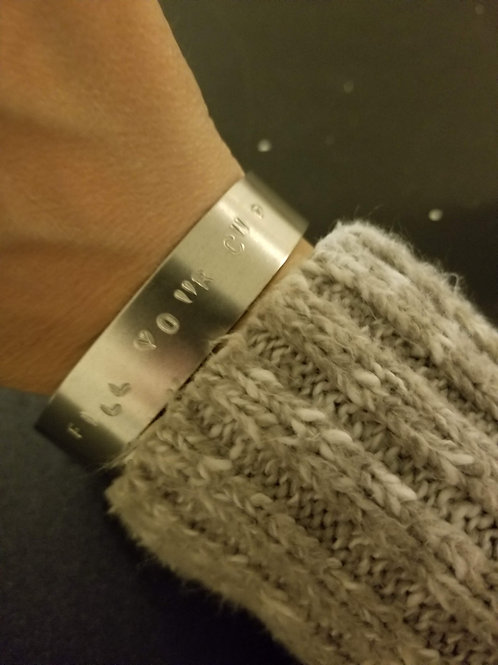 Fill your cup bracelet