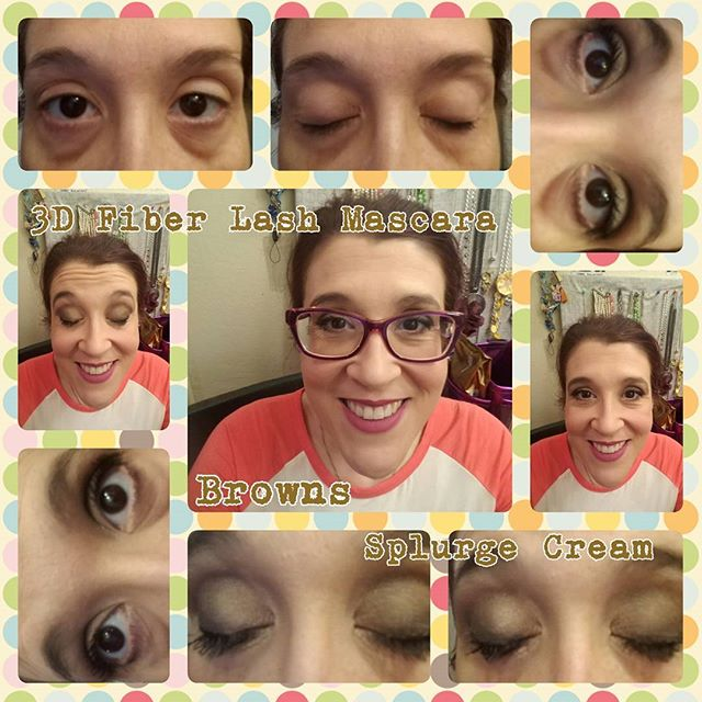 Splurge Cream Shadow look in Browns!!_#Younique #RockStarBeauties #victorious #faithful #proud #grat