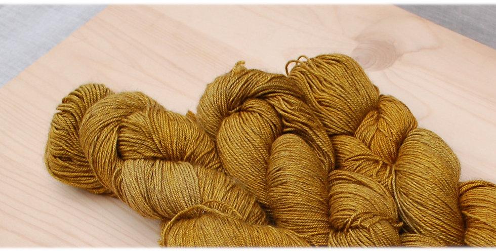 Gold yak - merino yak silk yarn