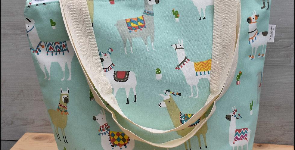 Extra large project bag - llama