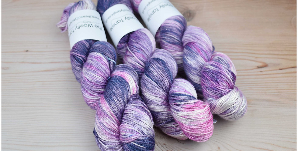 Lavender fields - merino silk 4ply