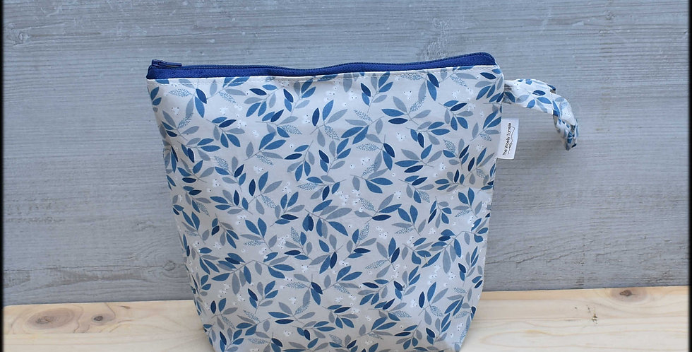 Medium project bag - mistletoe