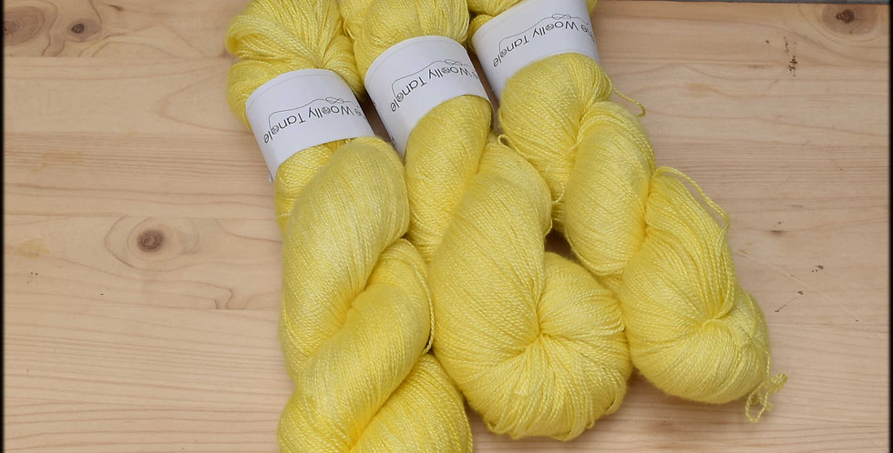 Forsythia - laceweight merino silk