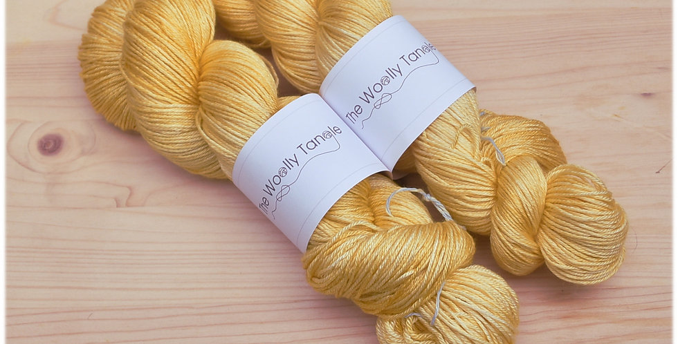 Marigold - merino silk yarn