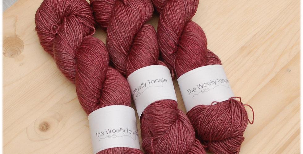Red - merino yak silk yarn
