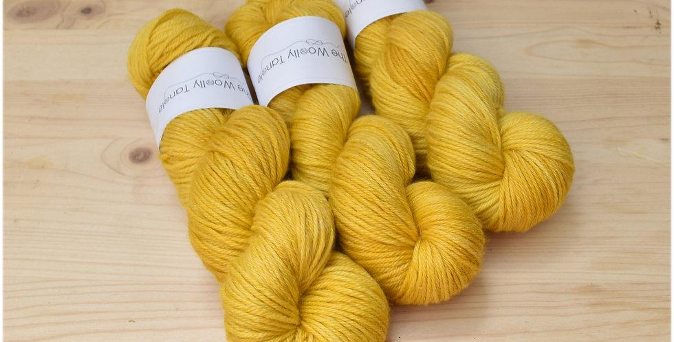 Mustardy - DK merino bamboo yarn