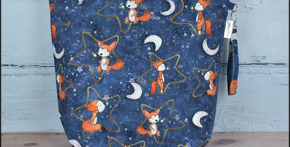 Large project bag - stargazing fox