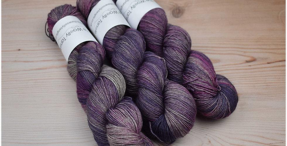 Lavender fields - merino yak silk yarn