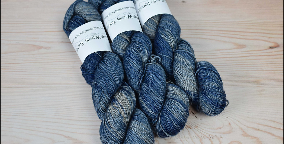 Twilight - merino yak silk yarn