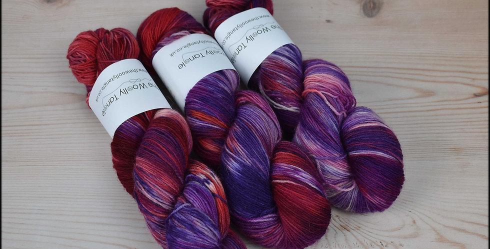 Summer pudding - 4 ply british sock yarn