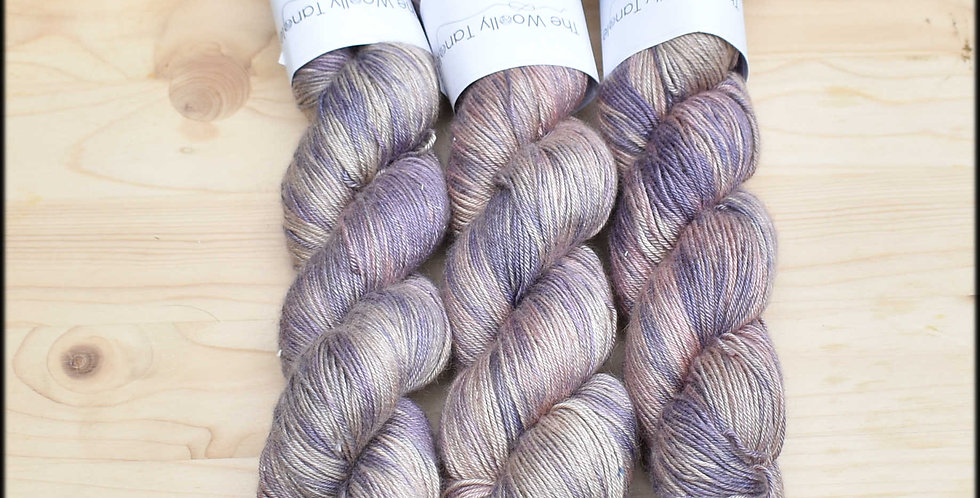 Lavender fields - camel silk 4 ply