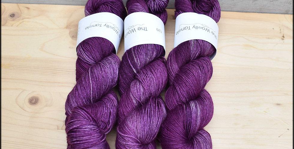 Purple yak - merino yak silk yarn