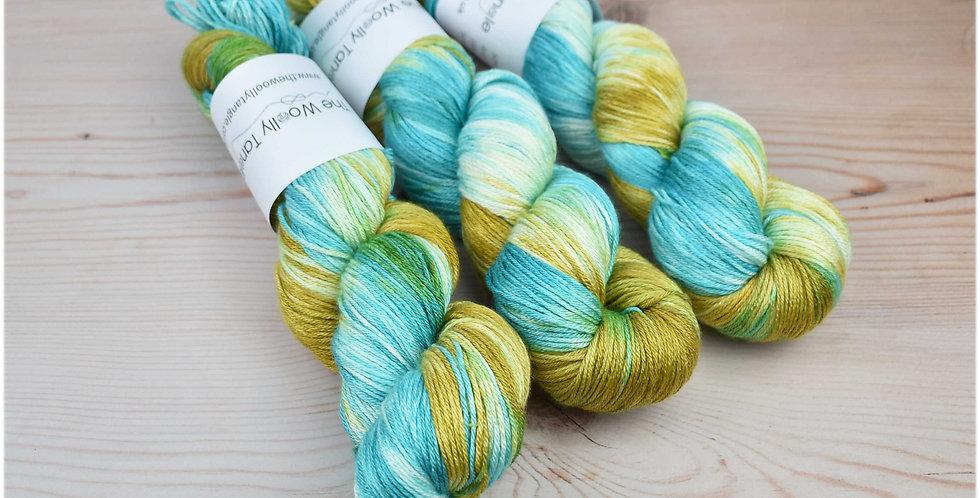 Summer cove - merino silk 4ply