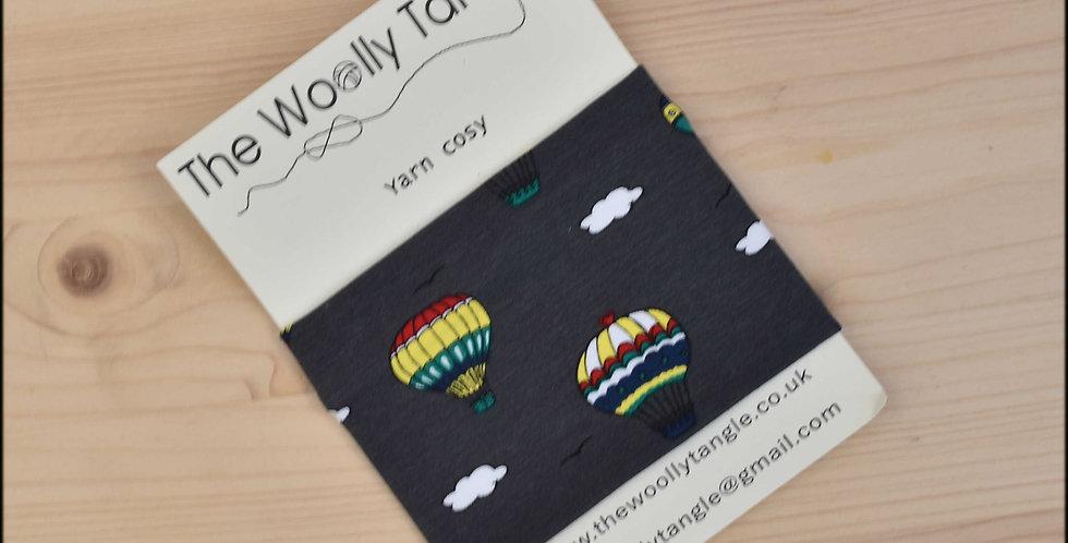 Yarn cosy - balloons