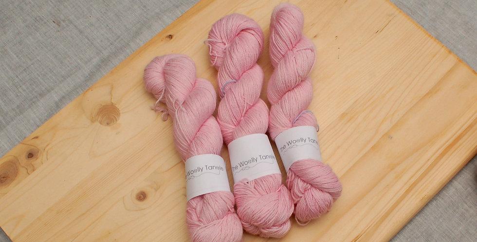 Cherry blossom - Alpaca, cashmere & silk 4ply