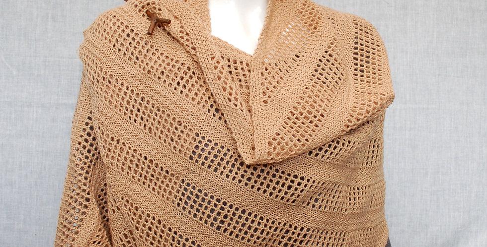 Bett shawl in 4ply yarn